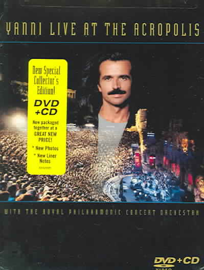 LIVE AT THE ACROPOLIS BY YANNI (DVD)